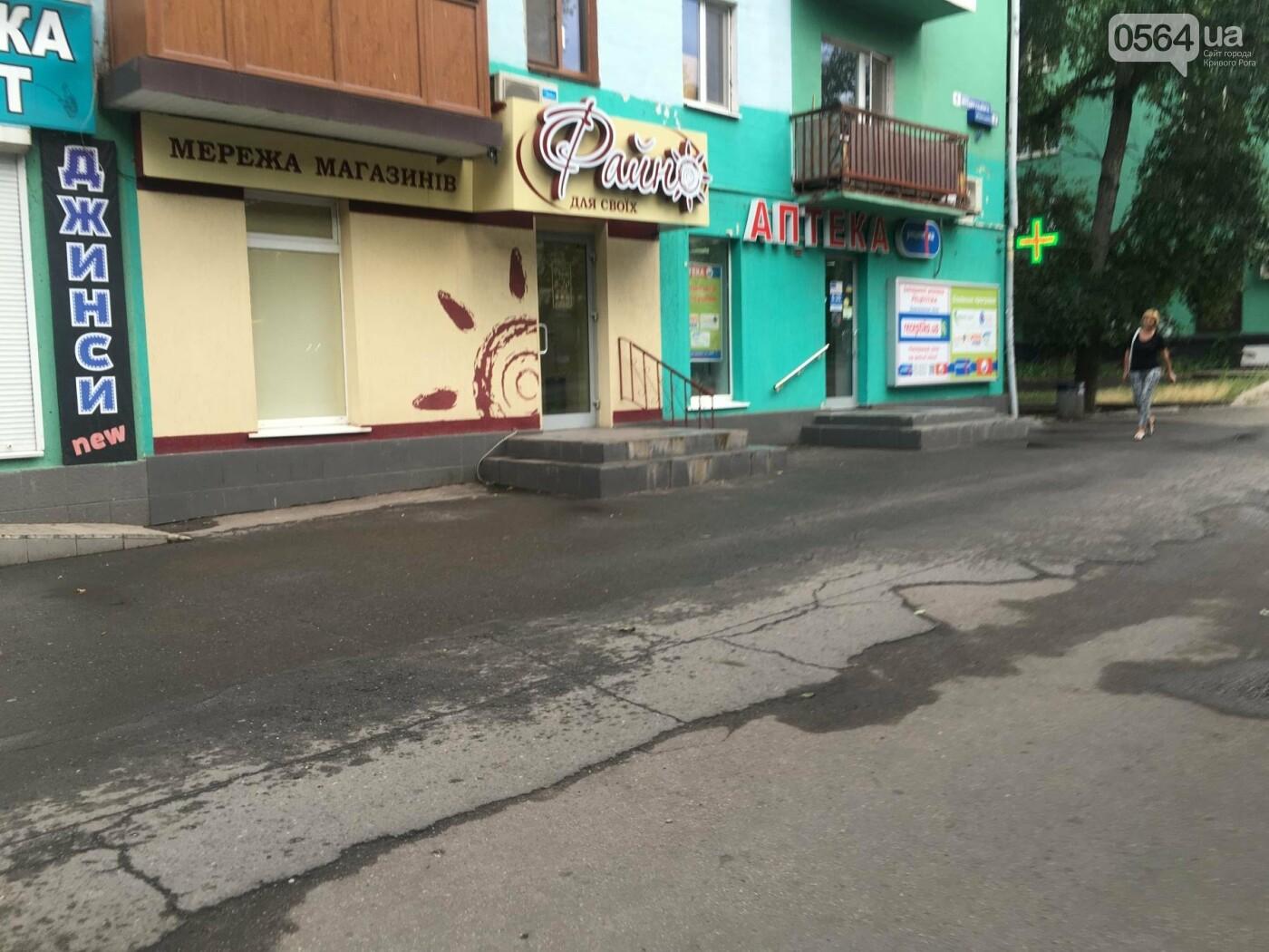 """""""Ждут штраф?"""": В Кривом Роге бизнесмены не спешат устанавливать урны возле своих магазинов, - ФОТО, фото-8"""