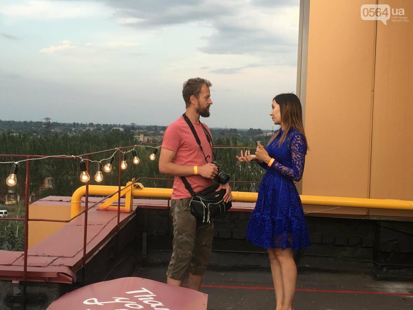 Сотни криворожан встречали закат на крыше отеля под мелодии джаза, - ФОТО, ВИДЕО, фото-15
