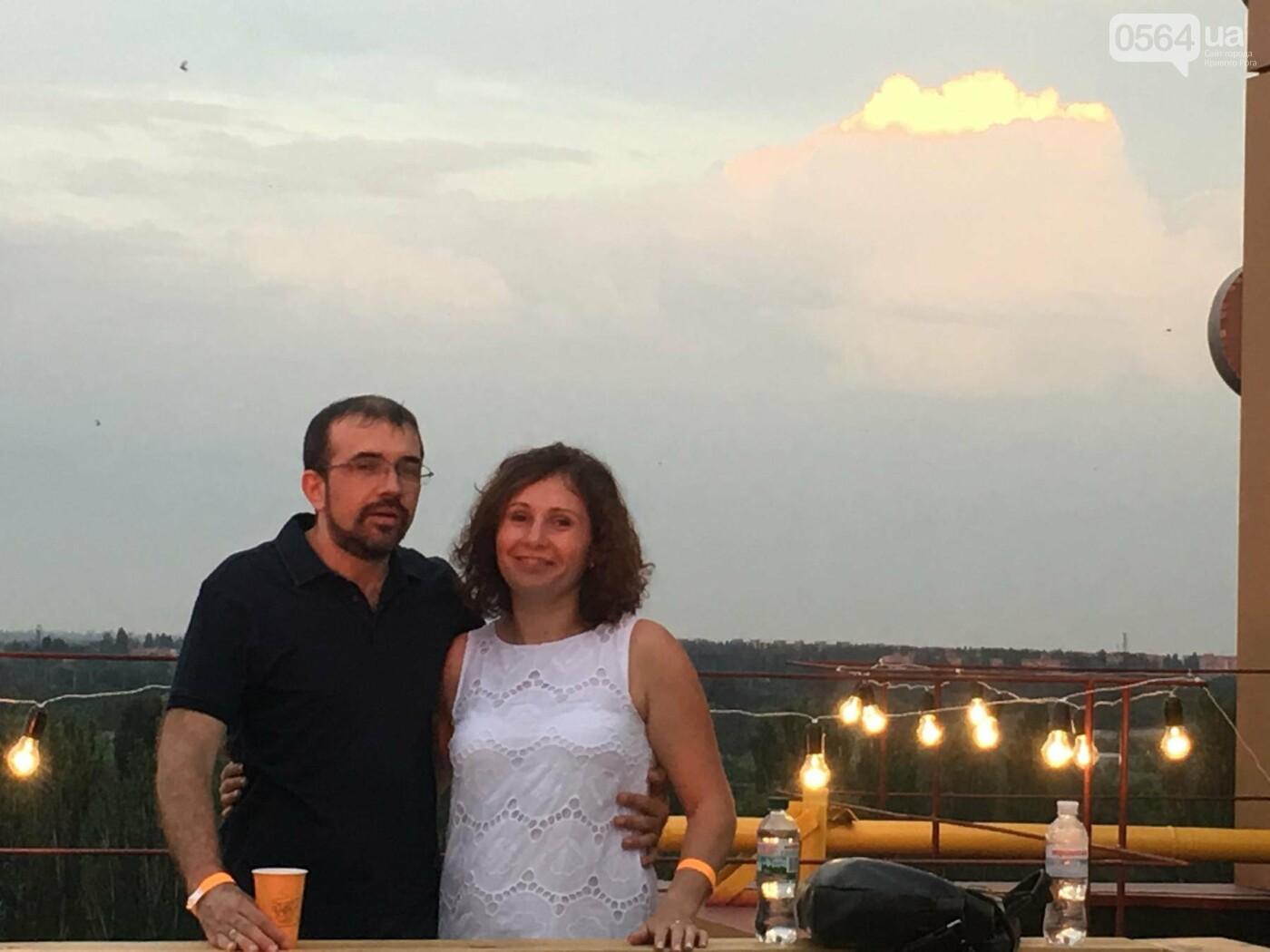 Сотни криворожан встречали закат на крыше отеля под мелодии джаза, - ФОТО, ВИДЕО, фото-3