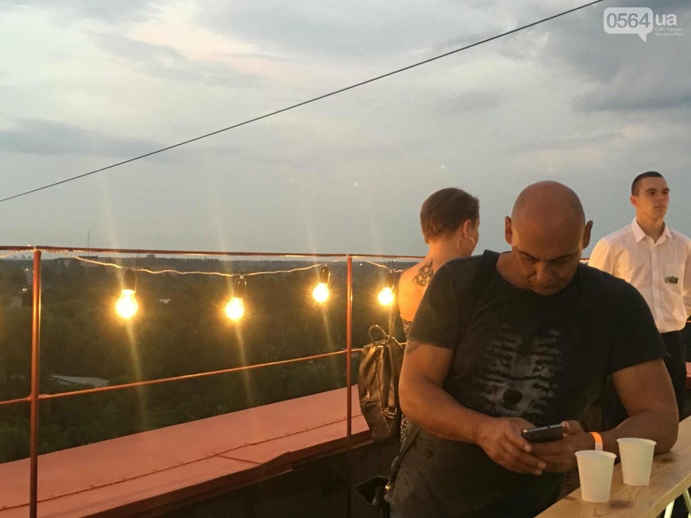 Сотни криворожан встречали закат на крыше отеля под мелодии джаза, - ФОТО, ВИДЕО, фото-13