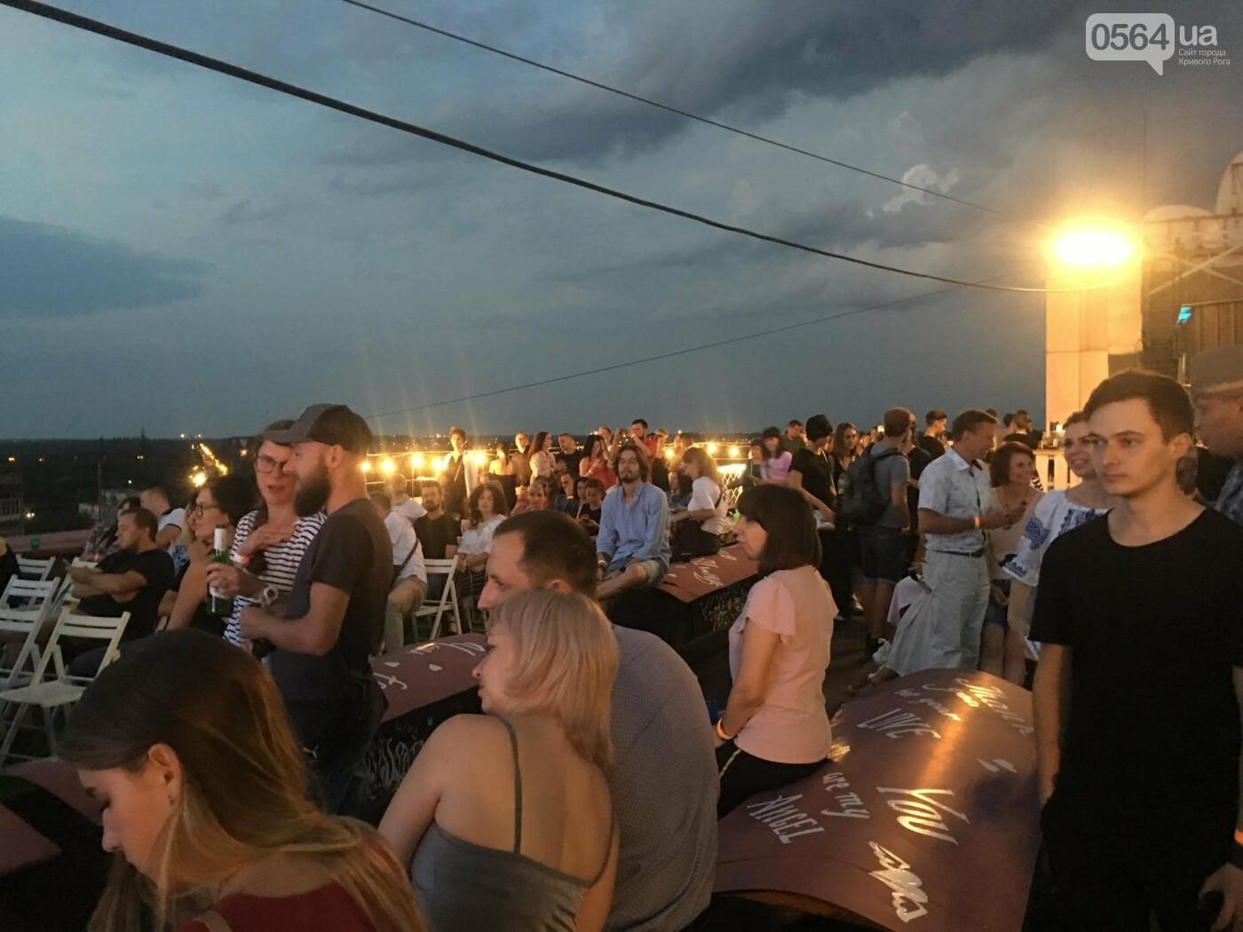 Сотни криворожан встречали закат на крыше отеля под мелодии джаза, - ФОТО, ВИДЕО, фото-38