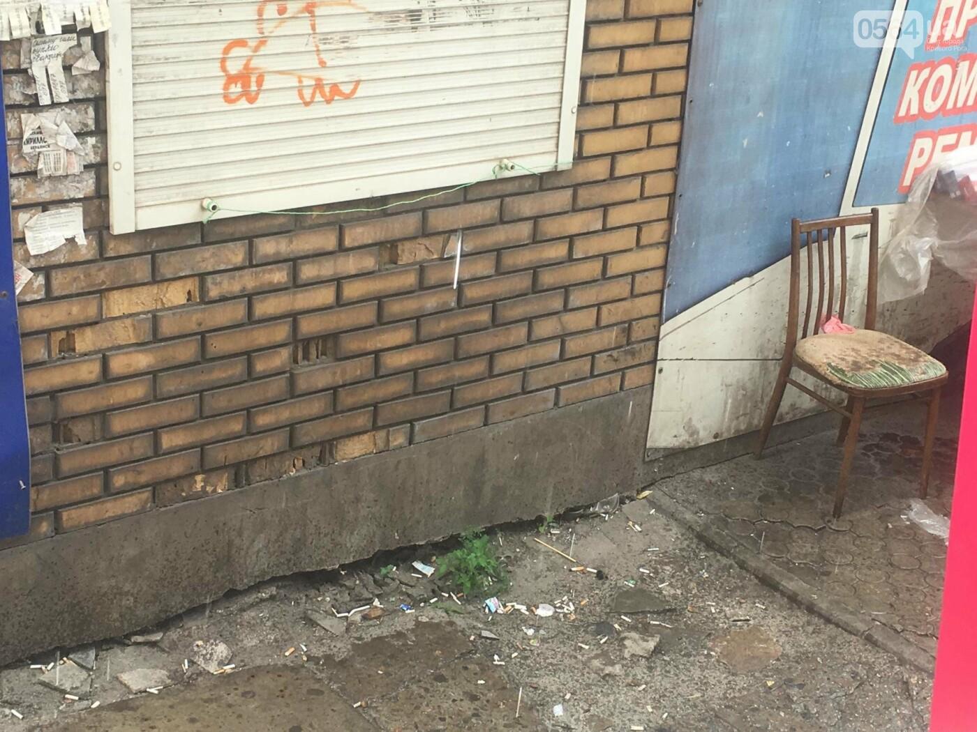 """Проходя по """"дороге"""" к рынку, 75-летняя криворожанка травмировалась, - ФОТО, фото-4"""