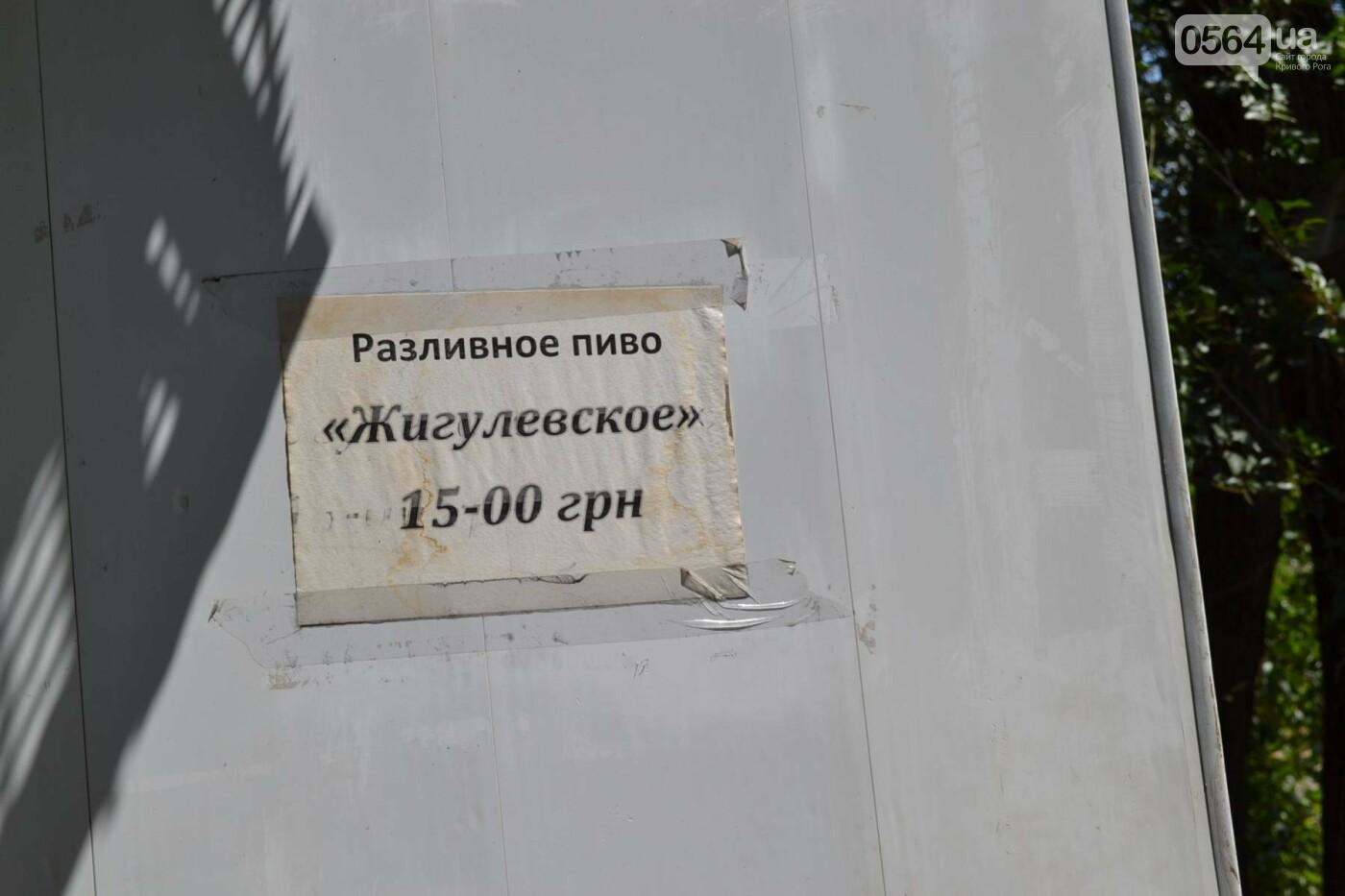 """В Кривом Роге активисты обнаружили очередную """"наливайку"""", а полицейский назвал это """"фигней"""", - ФОТО, ВИДЕО, фото-3"""