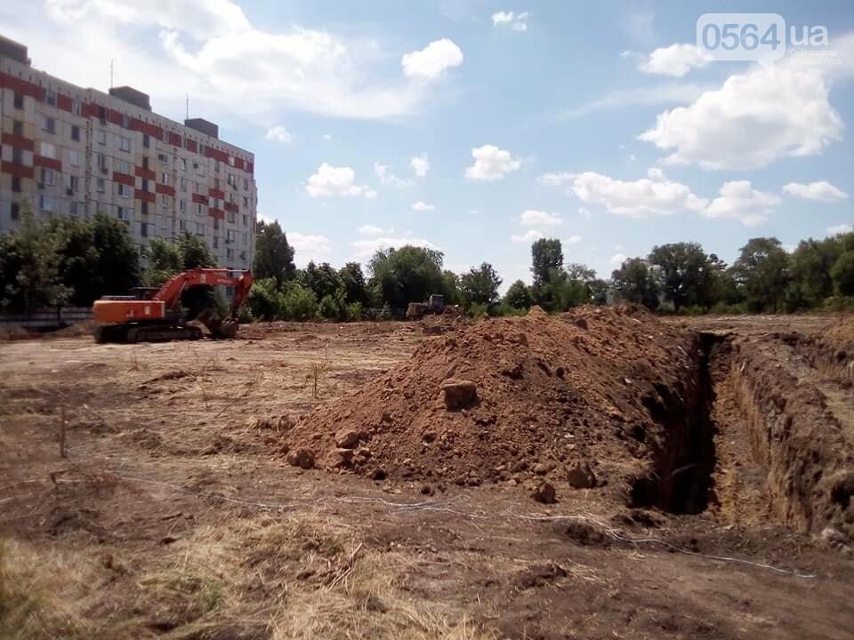В Кривом Роге начато строительство казарм улучшенного типа для танкистов, - ФОТО, фото-1