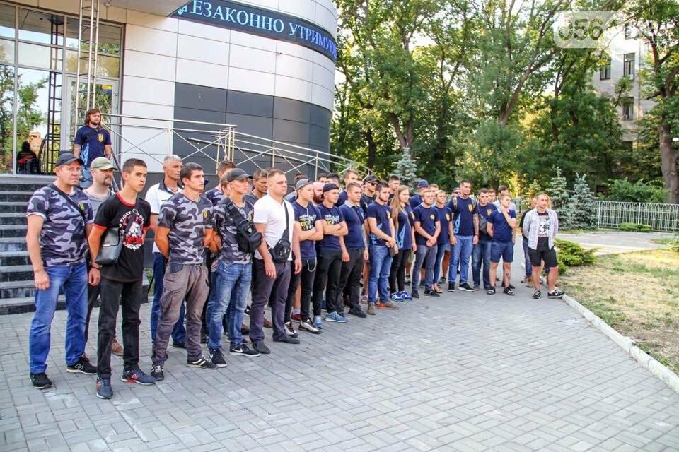 """""""Кривбассовцы"""" в Днепре провели акцию поддержки заложников Кремля, - ФОТО, фото-26"""
