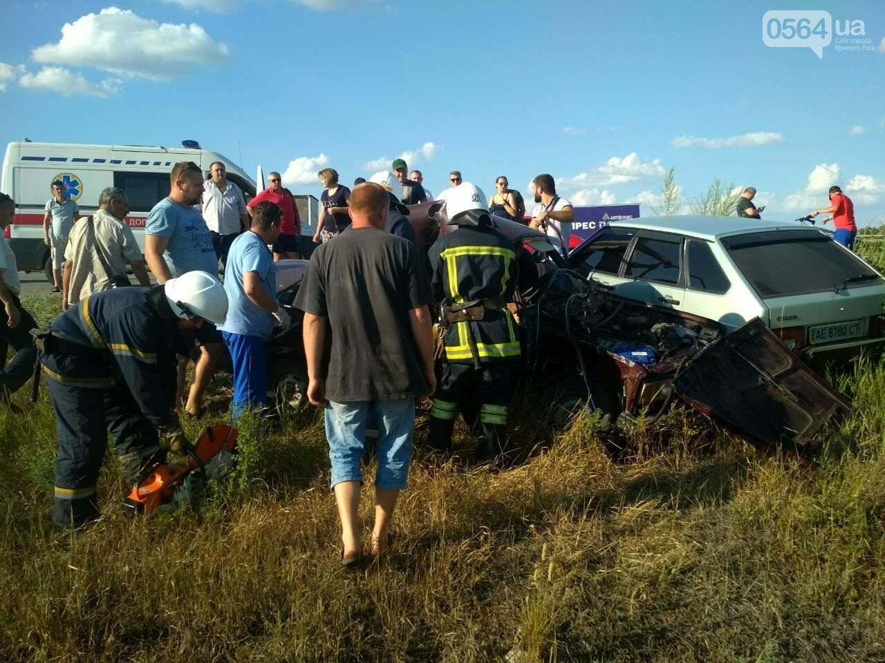 На Днепропетровщине столкнулись маршрутка и 2 легковушки. Один человек погиб, - ФОТО, фото-3