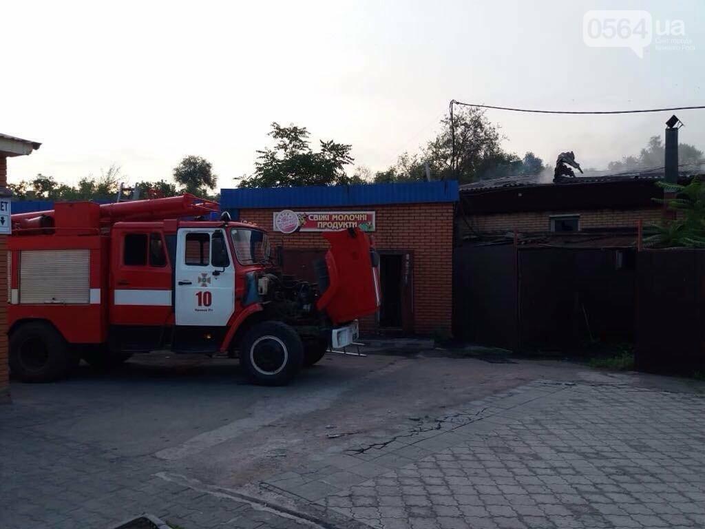 Масштабный пожар в Кривом Роге: Огонь уничтожил кафе и повредил еще несколько объектов, - ФОТО, фото-2