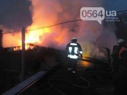 Масштабный пожар в Кривом Роге: Огонь уничтожил кафе и повредил еще несколько объектов, - ФОТО, фото-4