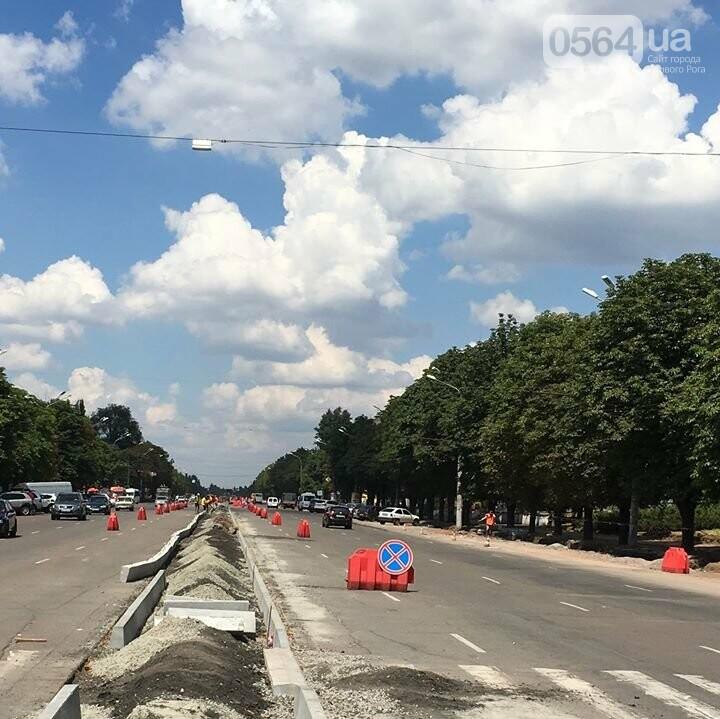 На проспекте 200-летия Кривого Рога временно отменили 3 остановки и запретили парковку, фото-2