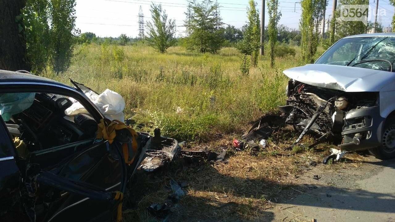 """""""Лоб в лоб"""": в результате жуткого ДТП в Кривом Роге пострадали три человека, - ФОТО, фото-8"""