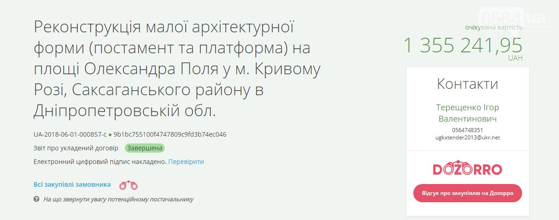 Криворожский исполком согласовал установку нового памятника, фото-3