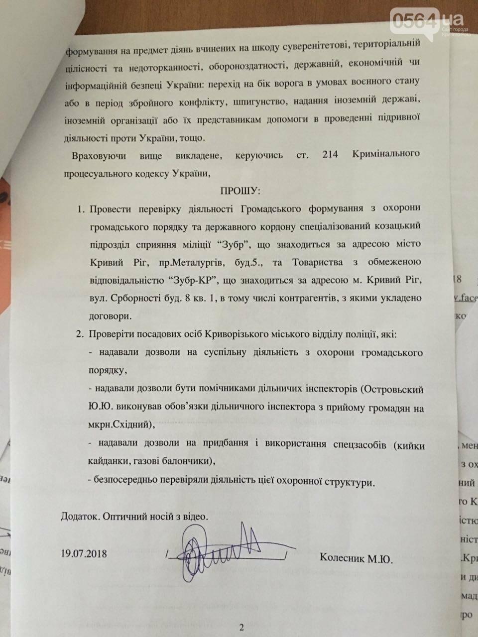 Криворожане передали в СБУ заявление с требованием проверить организации, которые возглавлял Островский, - ФОТО, фото-8