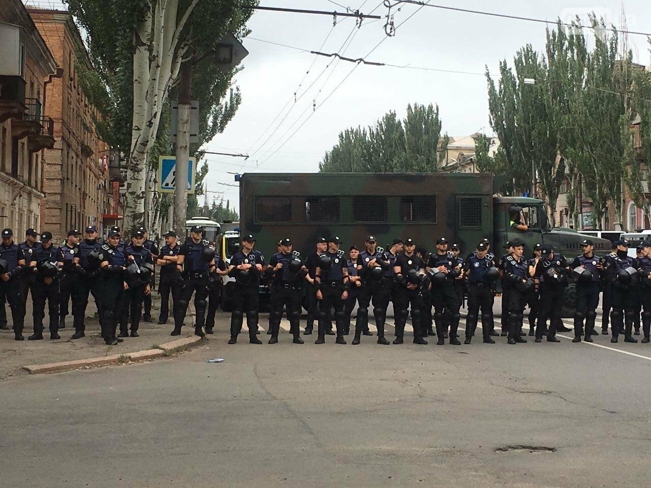 Такого Кривой Рог еще не видел: Сотни полицейских охраняли мирное шествие нескольких десятков людей, - ФОТО, фото-8