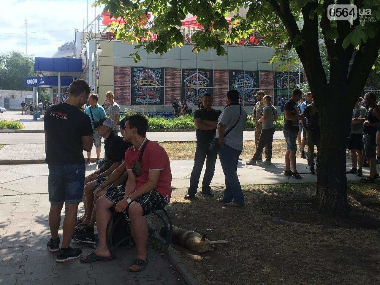 Трубят рога: В Кривом Роге собрались противники ЛГБТ-движения, - ФОТО, ВИДЕО, фото-9