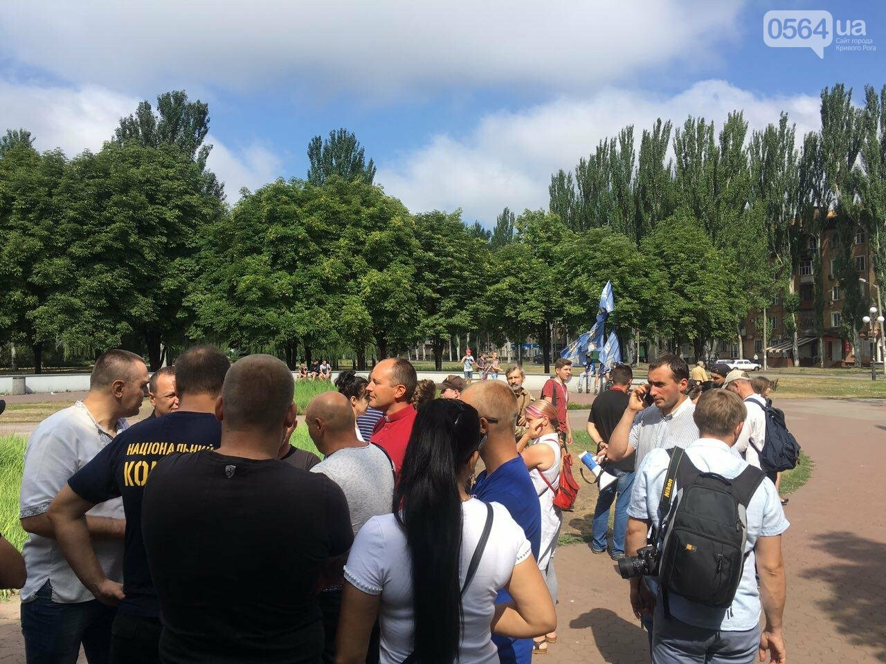 Трубят рога: В Кривом Роге собрались противники ЛГБТ-движения, - ФОТО, ВИДЕО, фото-3