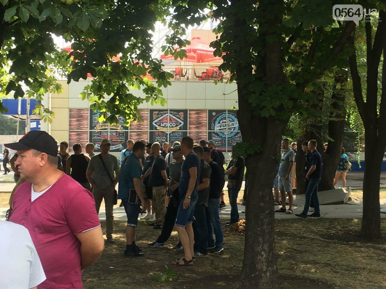 Трубят рога: В Кривом Роге собрались противники ЛГБТ-движения, - ФОТО, ВИДЕО, фото-6