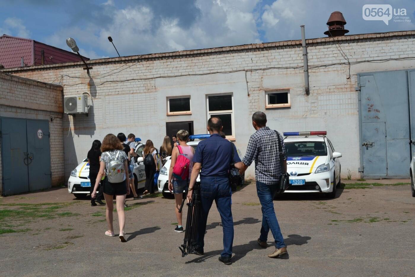 Патрульные начали обучать криворожанок приемам самообороны, - ФОТО, фото-12