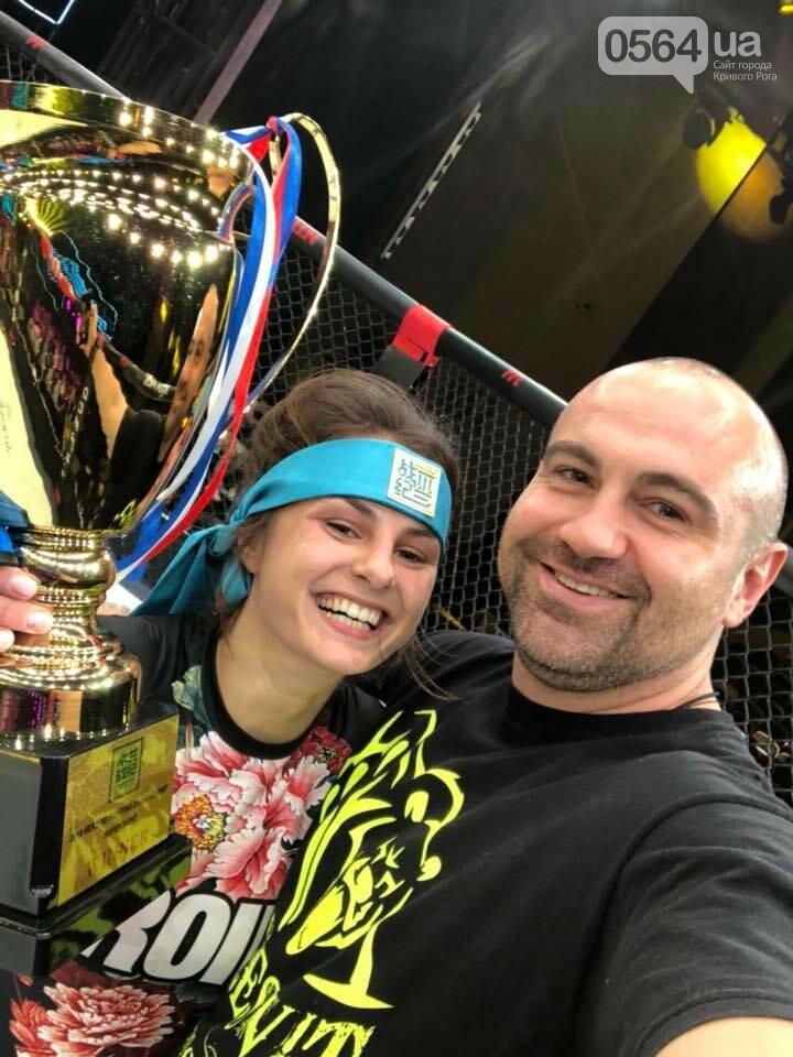 Криворожанка на международном турнире ММА в Китае одержала победу в первом раунде, - ФОТО, фото-3