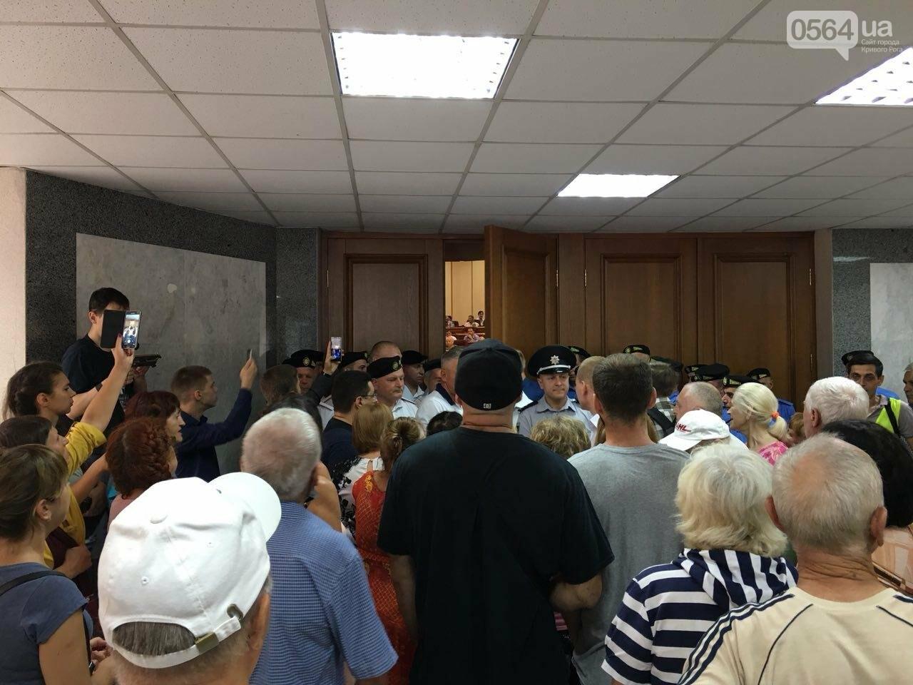 Криворожские депутаты написали заявления об уголовном преступлении в стенах горсовета, - ФОТО, фото-4
