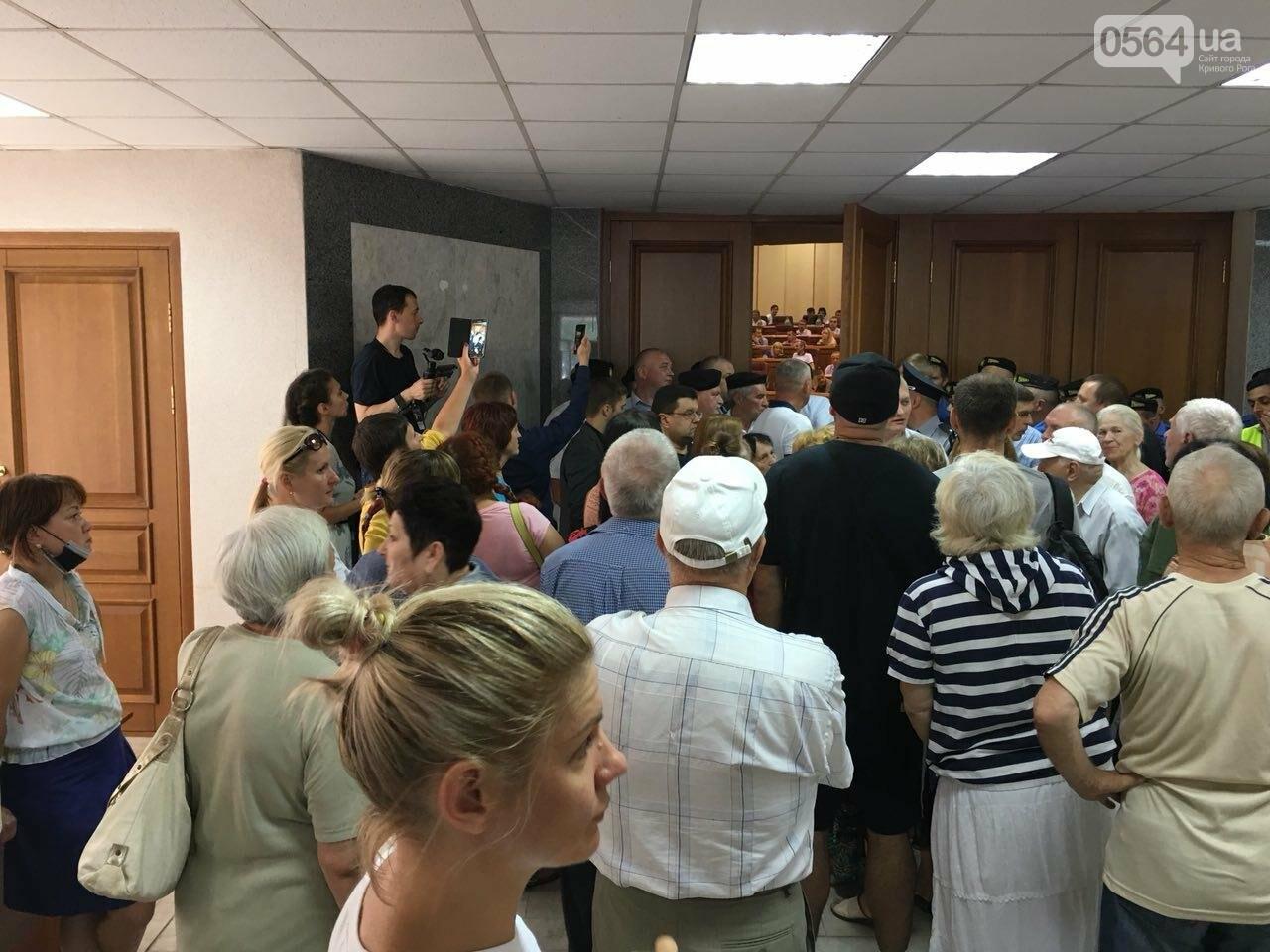 Криворожские депутаты написали заявления об уголовном преступлении в стенах горсовета, - ФОТО, фото-5