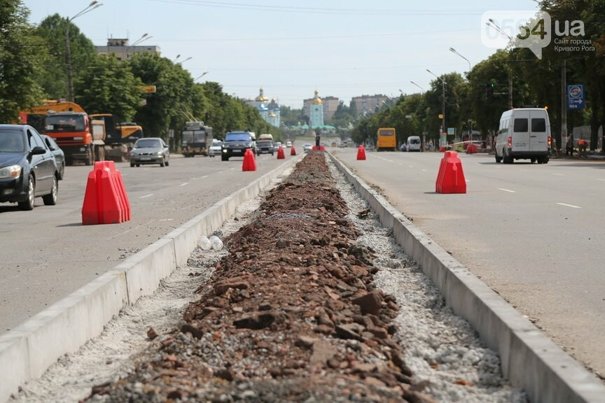На одной из центральных дорог Кривого Рога появится отдельная полоса для городского транспорта, - ФОТО, фото-4