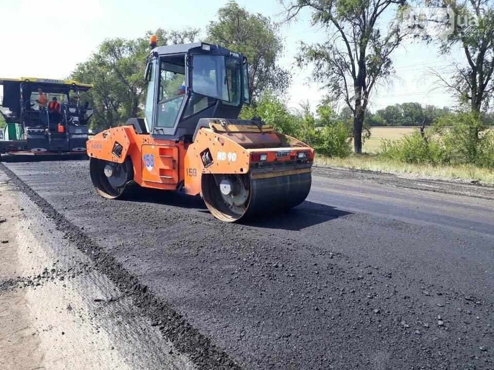 Ремонт трассы Днепр - Кривой Рог продолжается, несмотря на проблемы с финансированием, - ФОТО, фото-2