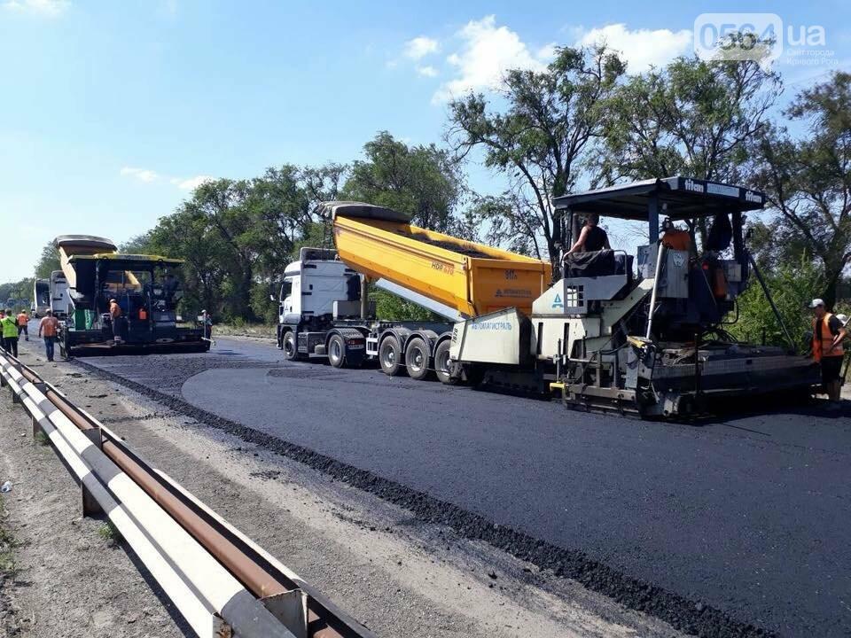 Ремонт трассы Днепр - Кривой Рог продолжается, несмотря на проблемы с финансированием, - ФОТО, фото-3