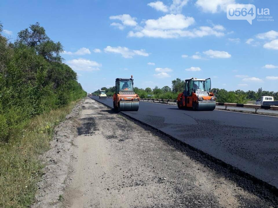 Ремонт трассы Днепр - Кривой Рог продолжается, несмотря на проблемы с финансированием, - ФОТО, фото-4