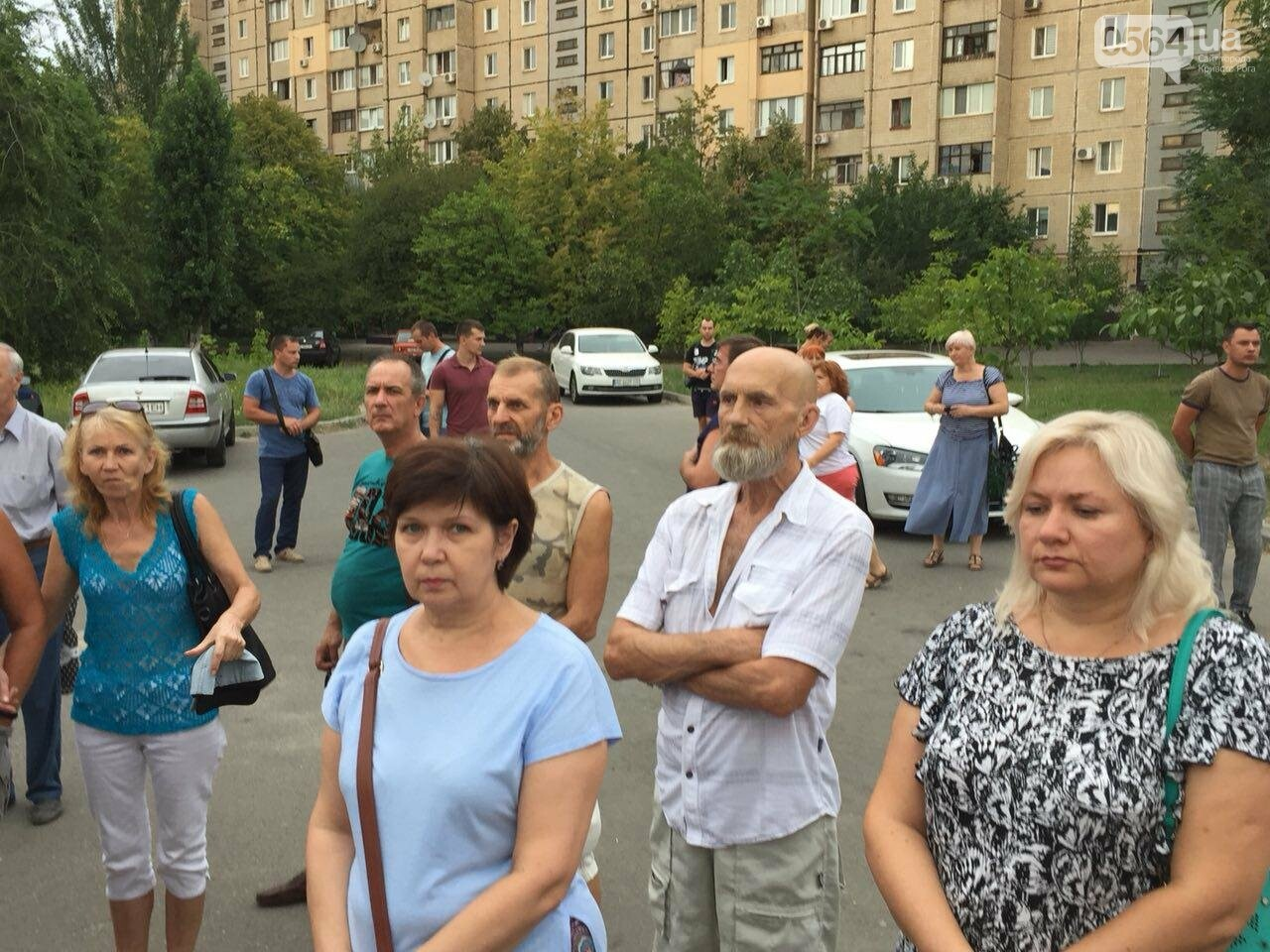 "Криворожане продолжают протестовать против ""химзавода"", - ФОТО, фото-20"