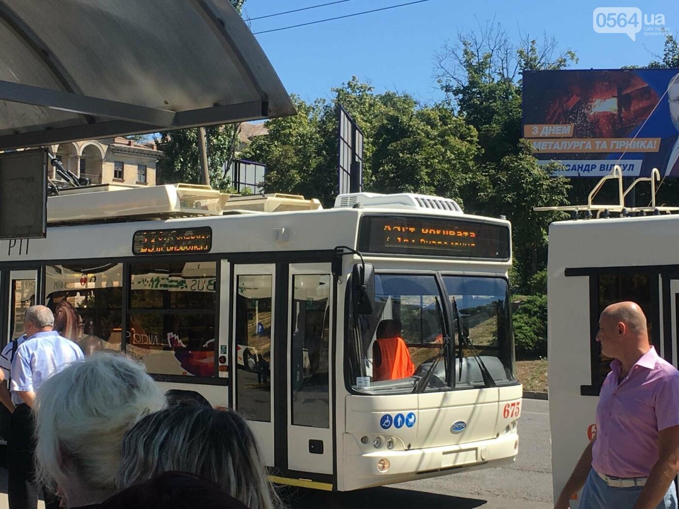 Как в Кривом Роге торжественно вручили водителям ключи от новых троллейбусов и автобусов, - ФОТО, ВИДЕО, фото-40