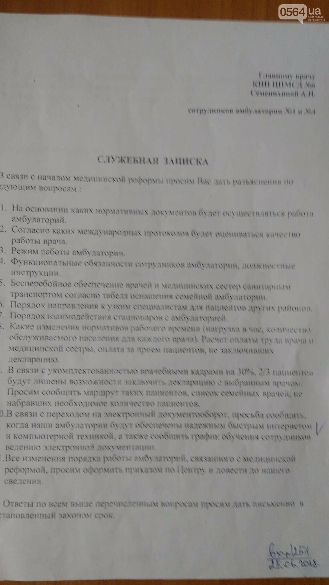 Ожидание и реальность: какие зарплаты получили врачи криворожской «первички», - ФОТО , фото-1