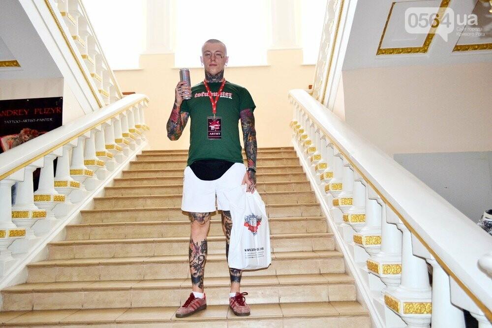 В Кривом Роге проходит тату-фестиваль. Победителей определят сегодня вечером, - ФОТО, ВИДЕО, фото-12