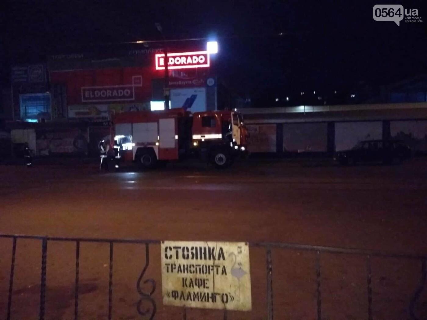 На Соцгороде в Кривом Роге горело кафе, - ФОТО, фото-1