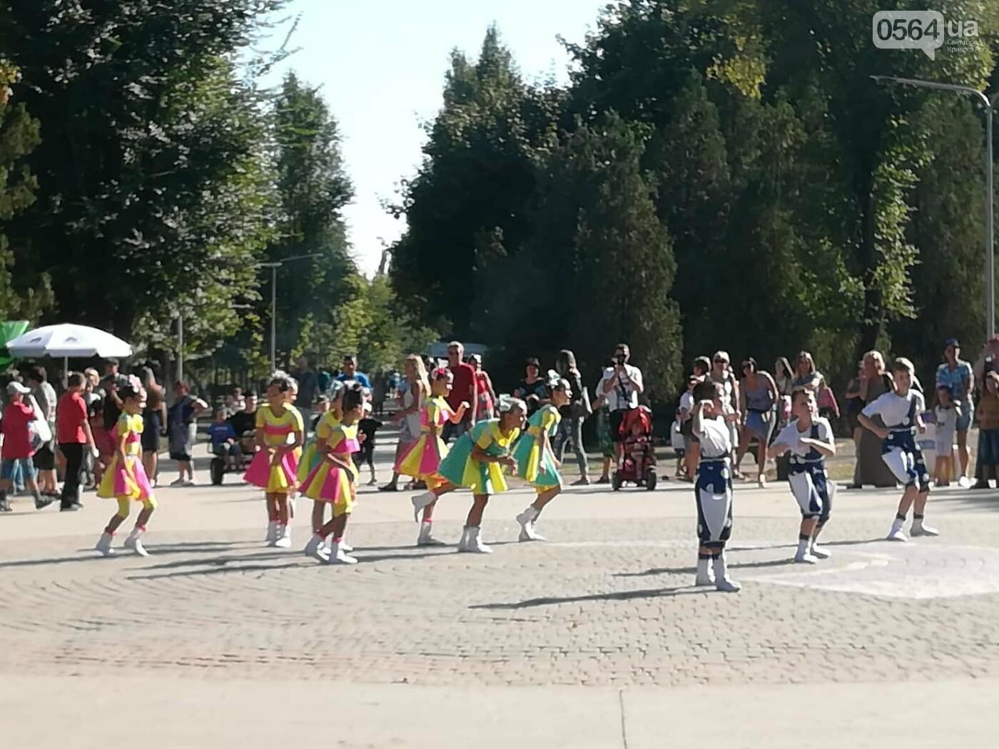 Мастер-классы, концерт и показательные выступления казаков, - как криворожане отмечают главный праздник страны в Долгинцевском районе, фото-5