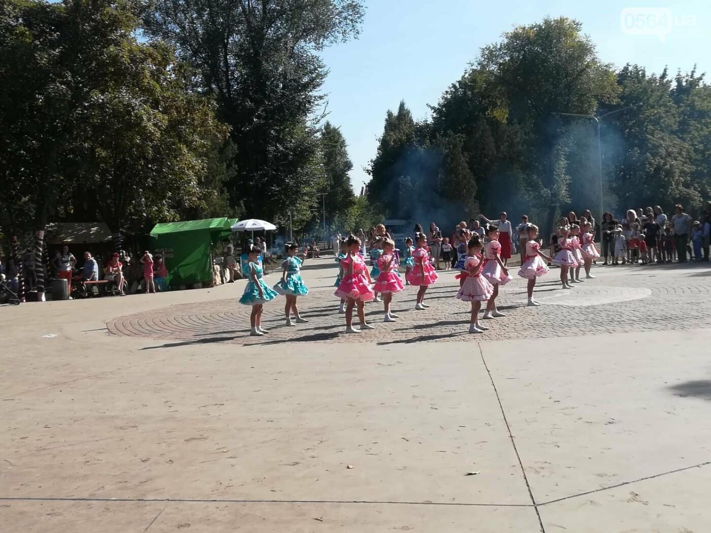 Мастер-классы, концерт и показательные выступления казаков, - как криворожане отмечают главный праздник страны в Долгинцевском районе, фото-11
