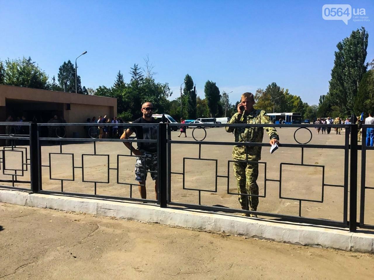 На Аллее Героев провели панихиду по погибшим в зоне АТО криворожанам, - ФОТО , фото-5