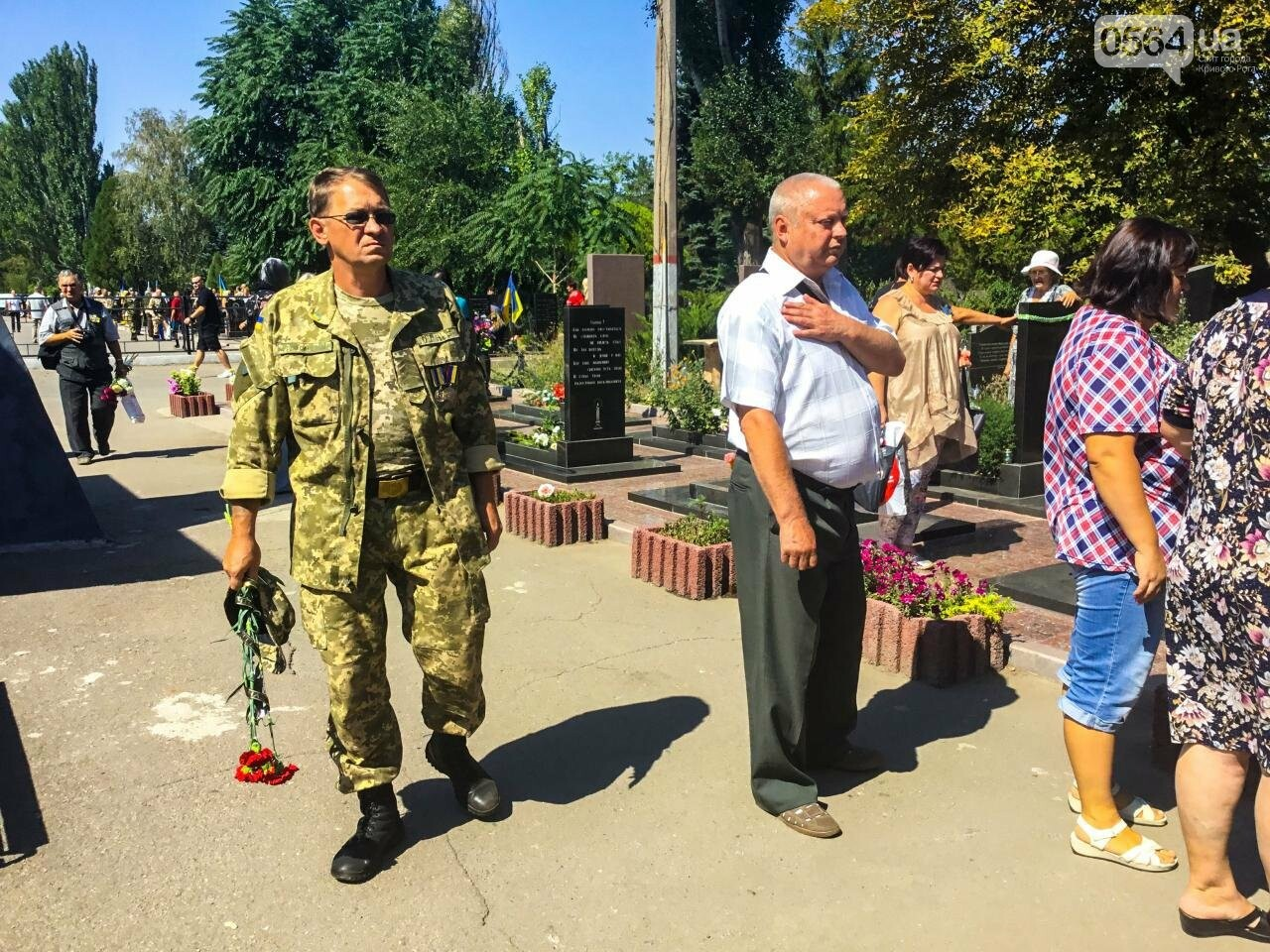 На Аллее Героев провели панихиду по погибшим в зоне АТО криворожанам, - ФОТО , фото-23