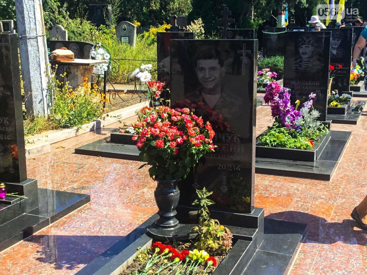 На Аллее Героев провели панихиду по погибшим в зоне АТО криворожанам, - ФОТО , фото-20