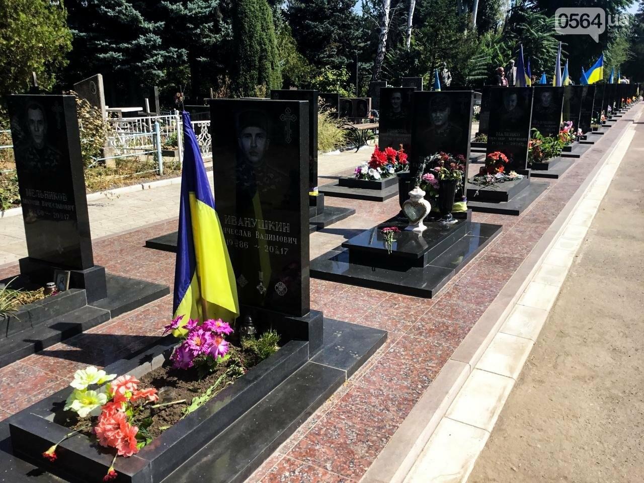 На Аллее Героев провели панихиду по погибшим в зоне АТО криворожанам, - ФОТО , фото-7