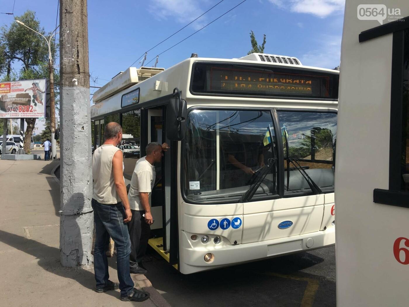 В Кривом Роге выпустили на линию новые троллейбусы и уже думают, как и сохранить их белыми и чистыми, - ФОТО, ВИДЕО, фото-30