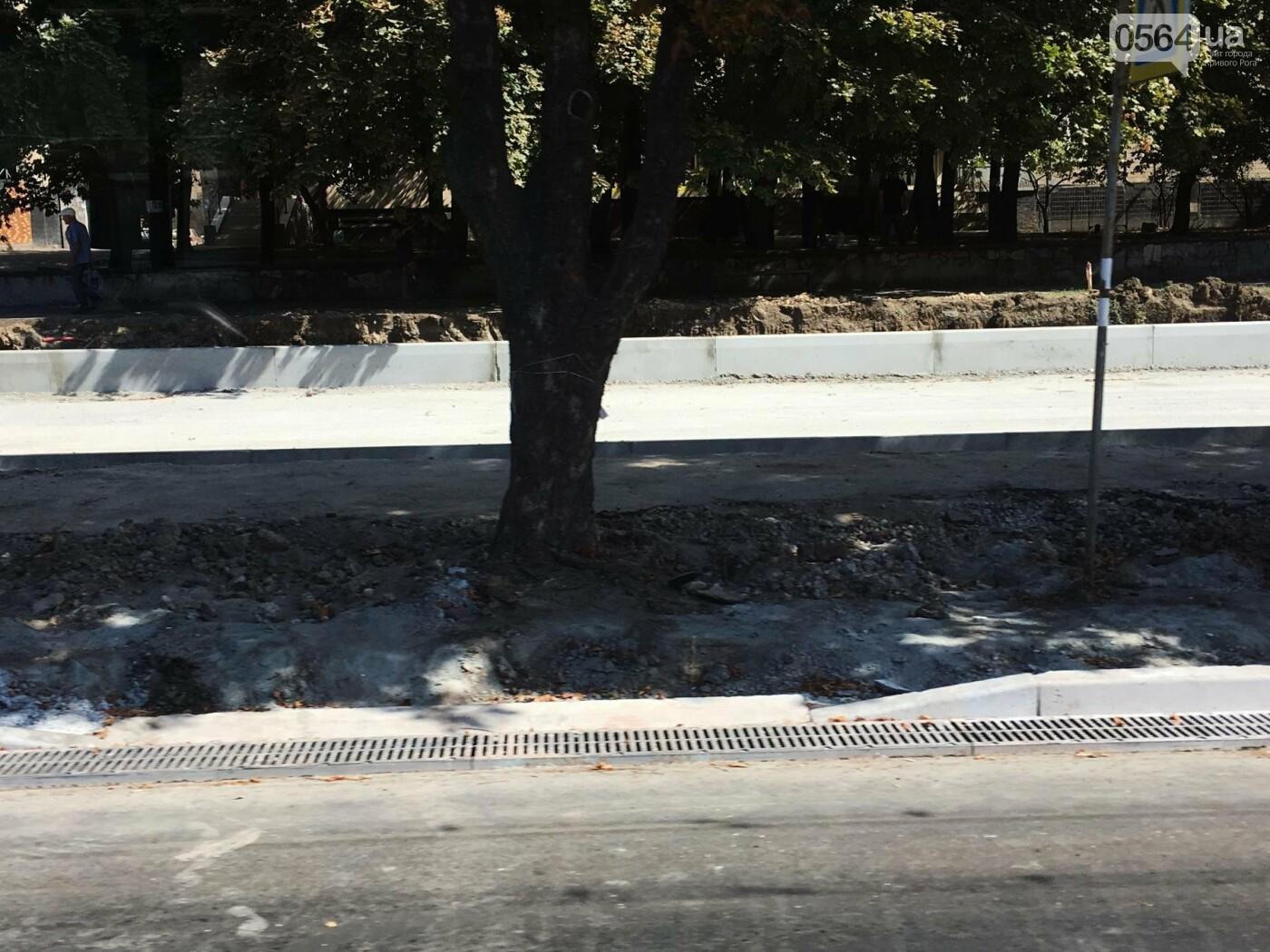 Центральную дорогу Кривого Рога планируют завершить к середине октября, - ФОТО , фото-10