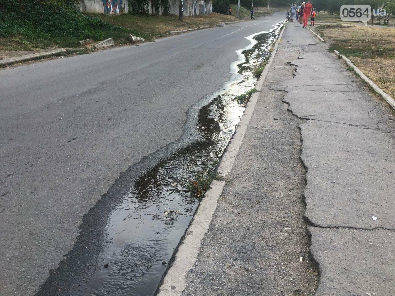 В Кривом Роге несколько дней заливает питьевой водой целый микрорайон, - ФОТО, ВИДЕО , фото-28