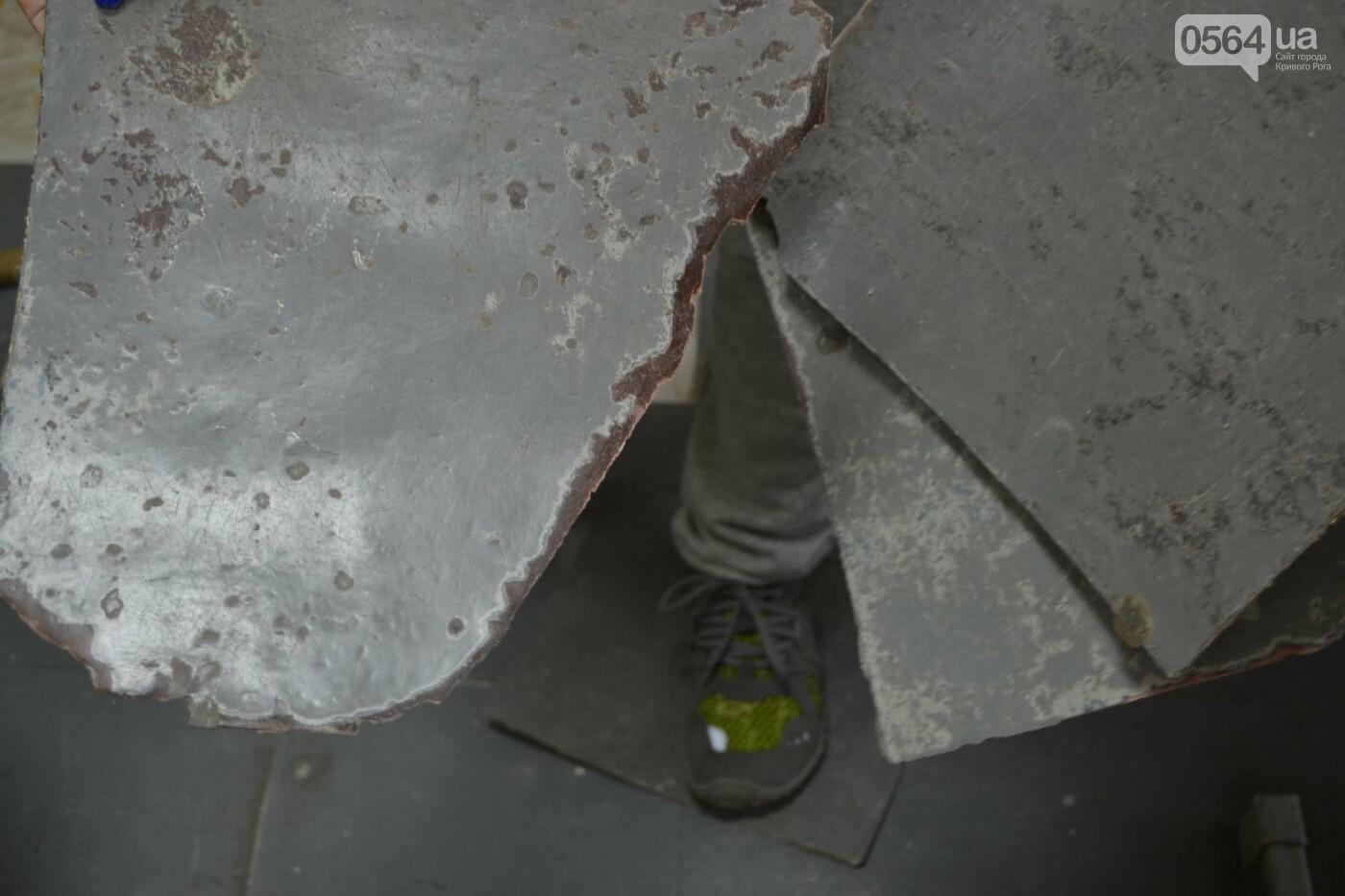 В школе Кривого Рога ремонтируют пол 5-копеечными монетами, - ФОТО, фото-8