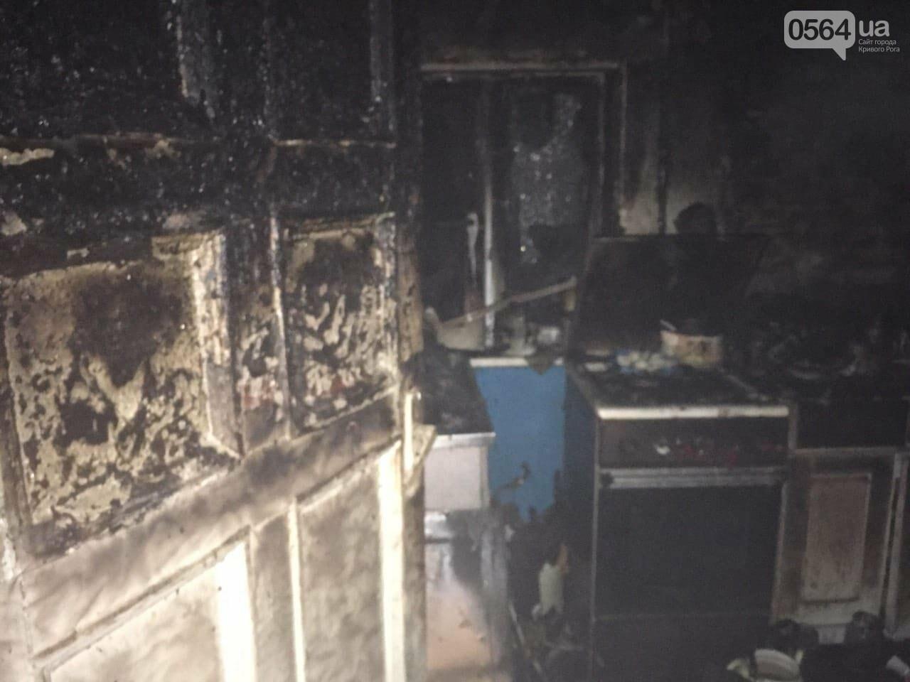 В Кривом Роге на пожаре погибла семья, - ФОТО , фото-1