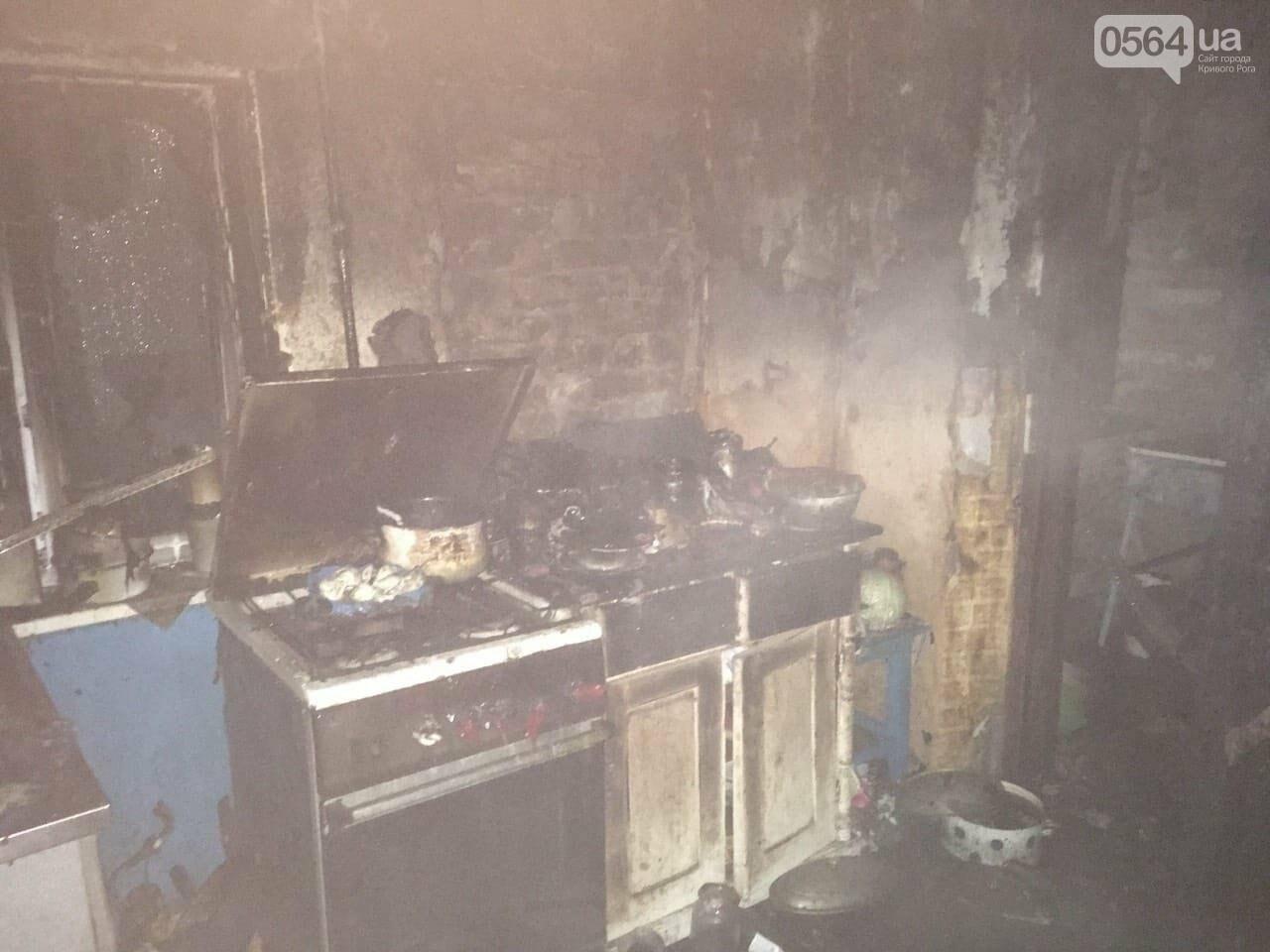 В Кривом Роге на пожаре погибла семья, - ФОТО , фото-2