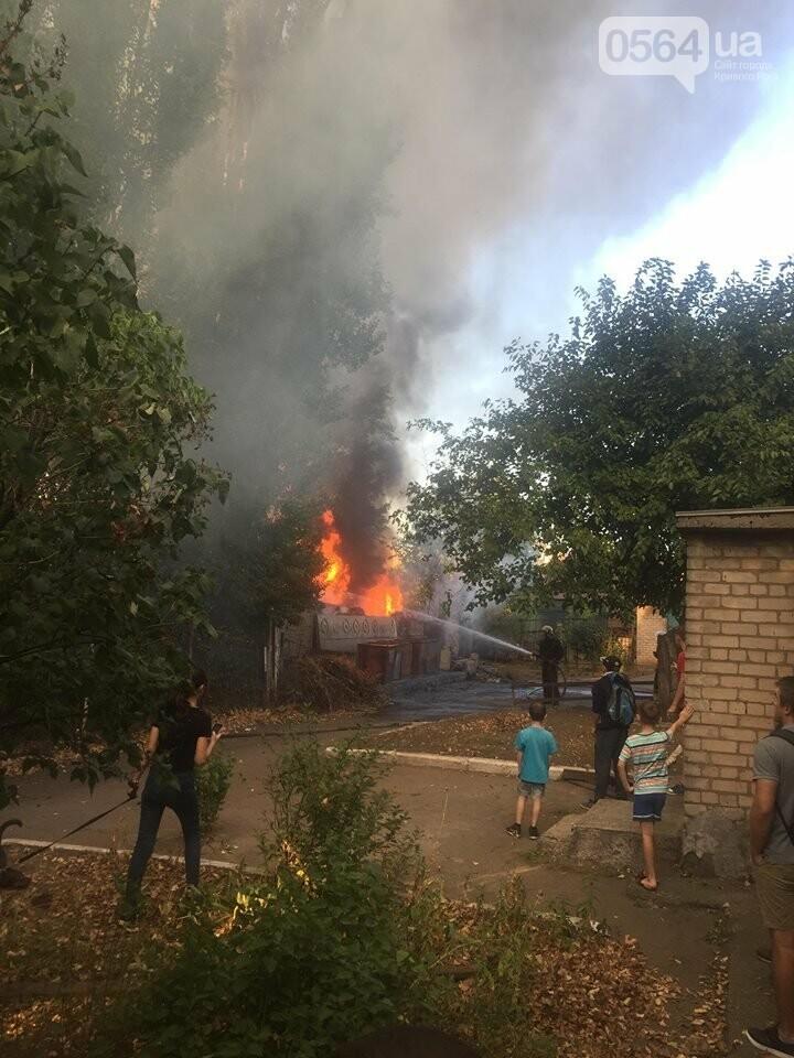 В Кривом Роге масштабный пожар: горели брошенные сараи, - ФОТО, ВИДЕО, фото-1