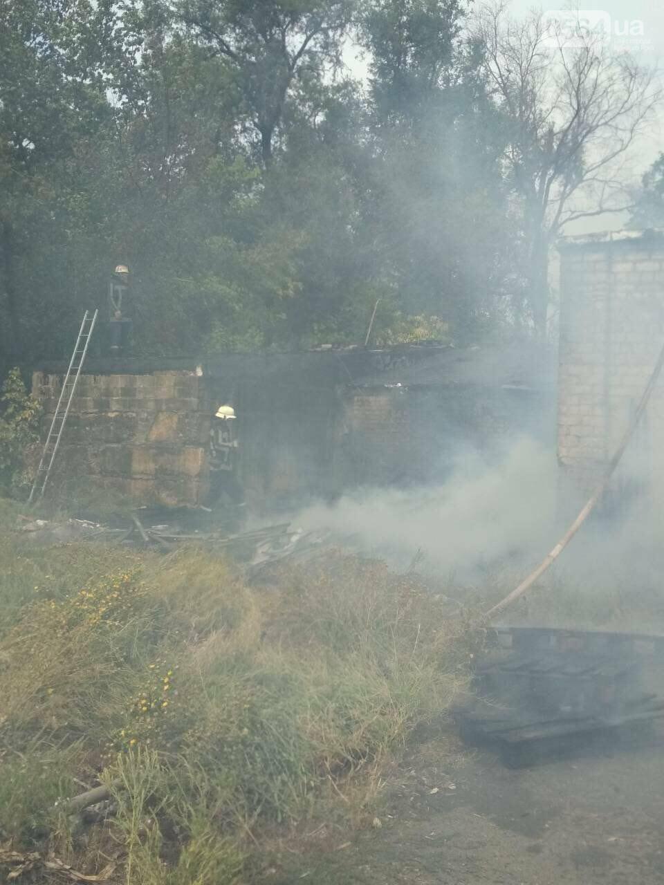 В Кривом Роге масштабный пожар: горели брошенные сараи, - ФОТО, ВИДЕО, фото-3