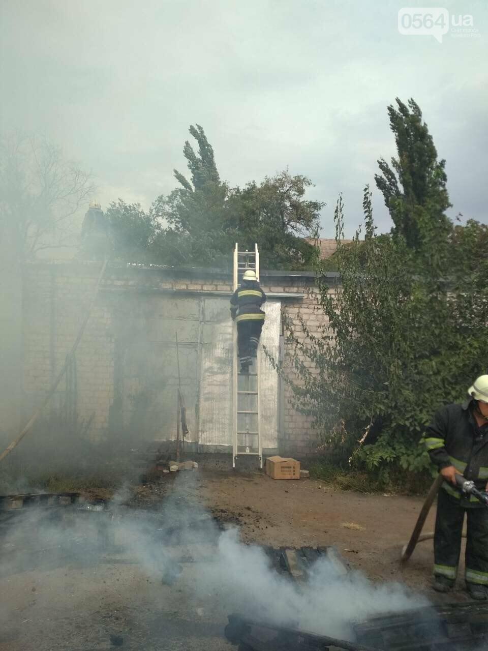В Кривом Роге масштабный пожар: горели брошенные сараи, - ФОТО, ВИДЕО, фото-7