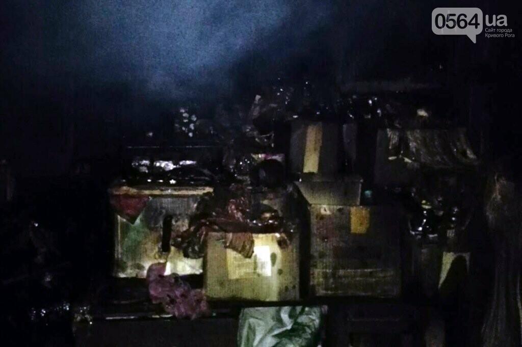 В Кривом Роге горели 2 торговых киоска, фото-1
