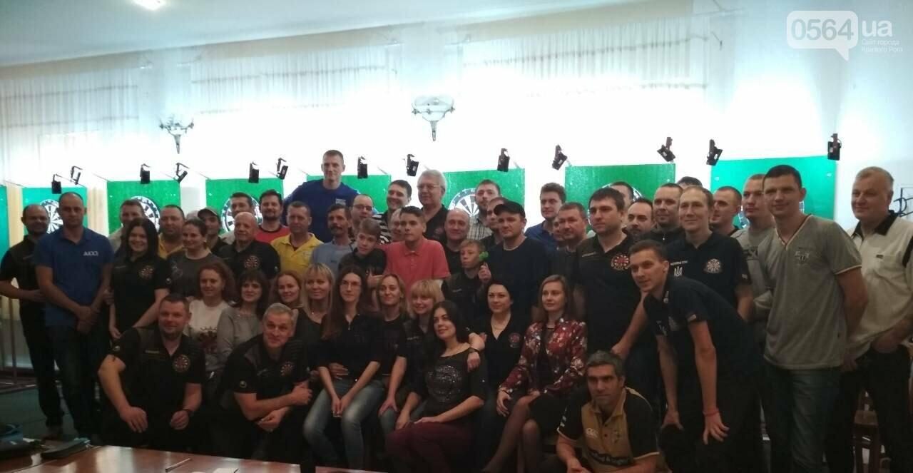При поддержке ЧАО «СУХА БАЛКА» DCH в Кривом Роге прошли Х и ХІ этапы Кубка Украины по дартсу, фото-4